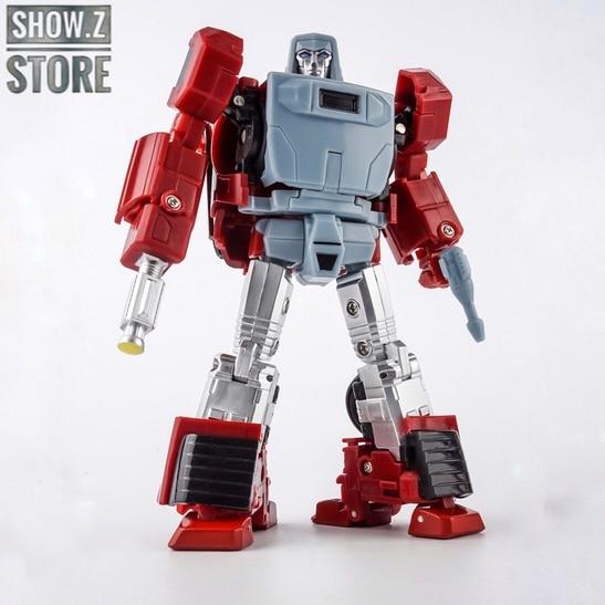 [Show.Z] XTransbots X-Transbots XTB MM-VI MMVI MM-6 MM6 Boost Windcharger ComiToon Comic Version Transformation Action Figure