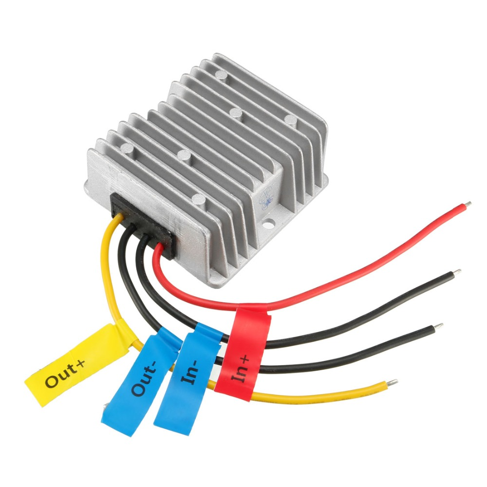 Power Converter Regulator DC 24V(20V~35V) Step-Down to DC 19V 5A 95W Waterproof Voltage Convert Transformer Adapters Supplies import plcc52 go s415t dip52 adapters convert burn test