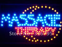 Led033-b Masaj Terapisi LED Neon Işık Burcu Beyaz Tahta Toptan Dropshipping