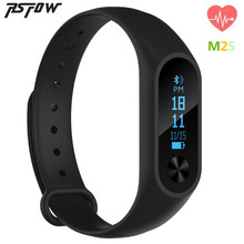 Rsfow Bluetooth Smart Браслет M2S OLED дисплей монитор сердечного ритма SmartBand здоровья фитнес-трекер Браслет для iOS и Android