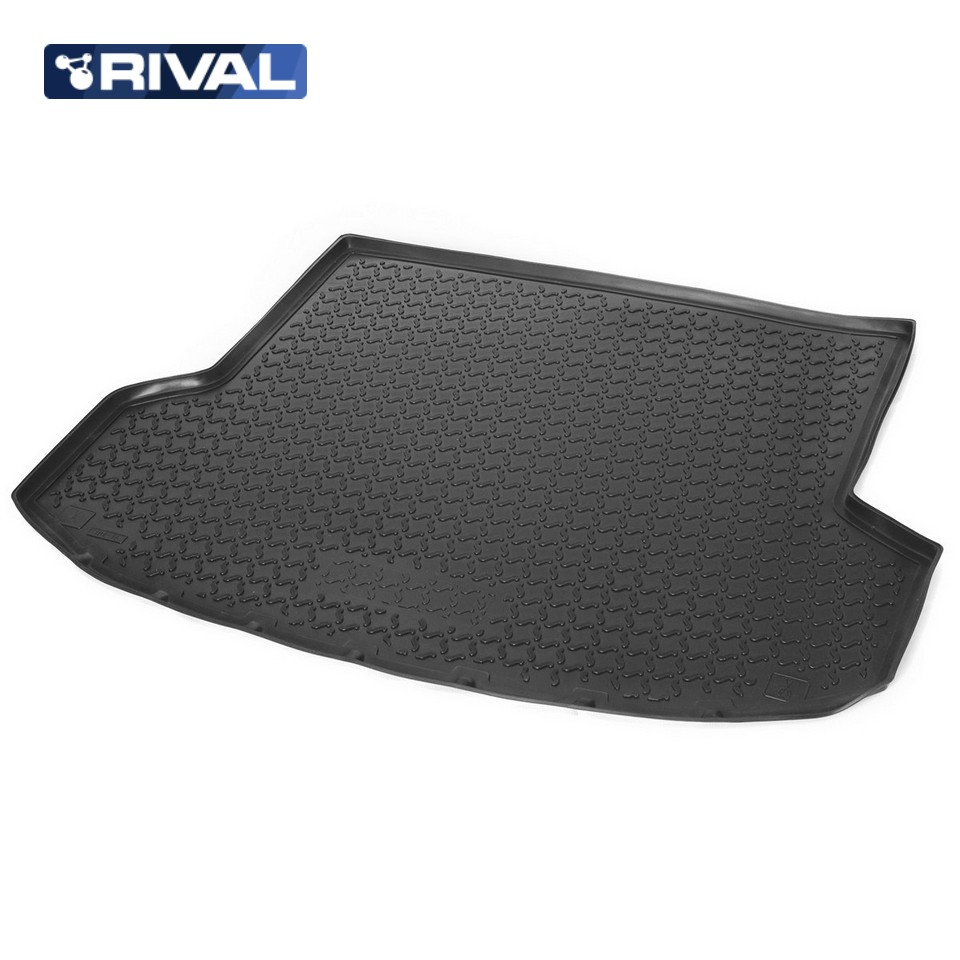 For Datsun on-Do sedan 2014-> Mat trunk polyurethane [Rival 18701003] for datsun mido 2014 2019 trunk mat rival 18701002