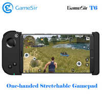 In Stock GameSir T6 Bluetooth Gamepad One-handed Stretchable Full-haptic 4.5-6 inch Android/ iOS Phones for FPS Games