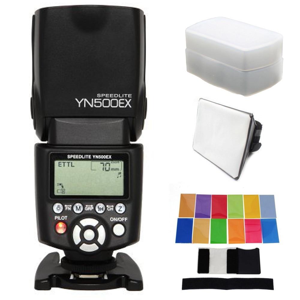 Yongnuo YN 500Ex YN500Ex High speed sync HSS Flash Speedlite Speedlight for Canon 400D 450D 500D