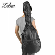 Zebra Waterproof 41″Electric Acoustic Guitar Bag Case Lightweight Bass Carry Black Shoulder Strap Guitar Accessories