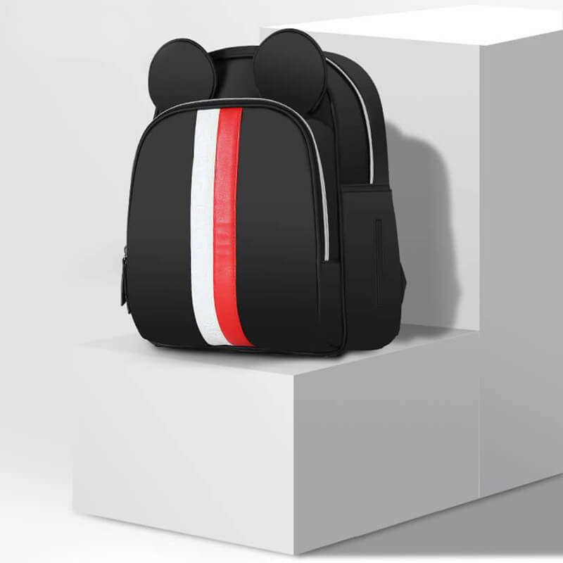 7484f27d1d5c Disney Mickey Gucci Inspired Striped Best Diaper Baby Bag Backpack Mummy  Maternity Care Large Capacity Nappy Bag-in Diaper Bags from Mother & Kids  on ...