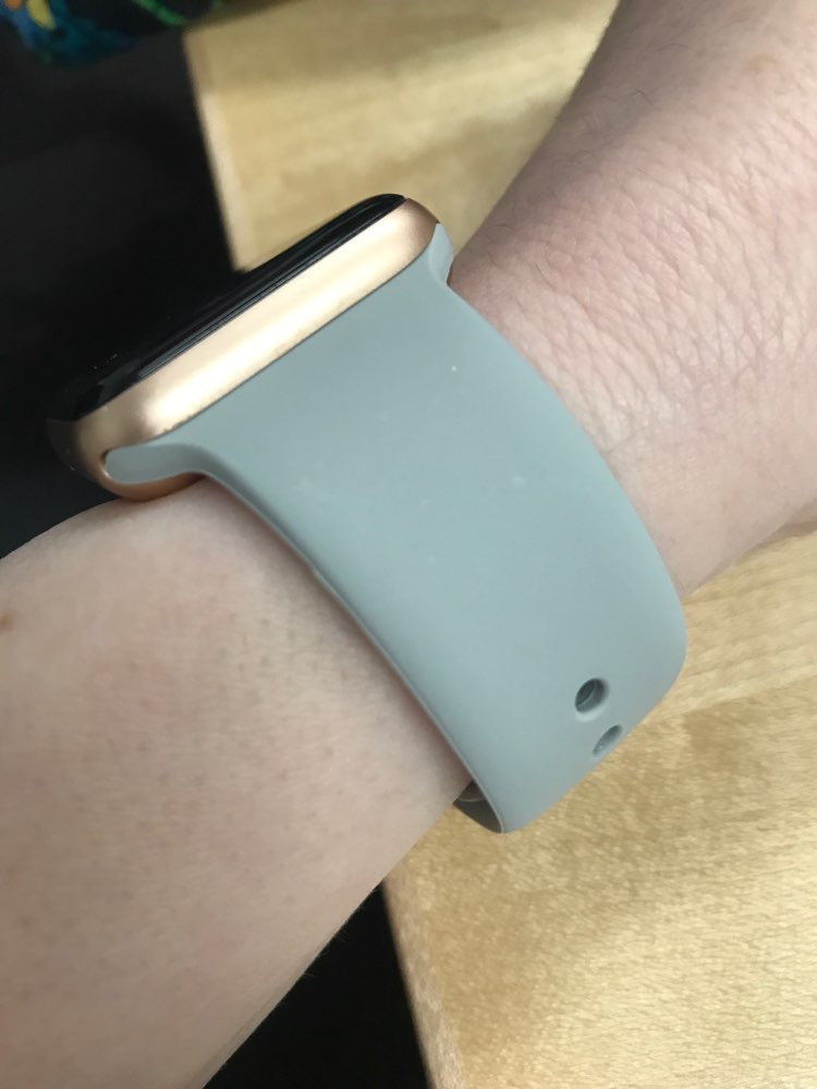 Sport strap For Apple Watch band 42mm 38mm iWatch 3 2 1 Soft Silicone bracelet watch belt Watchband for Apple Watch 4 44mm 40mm