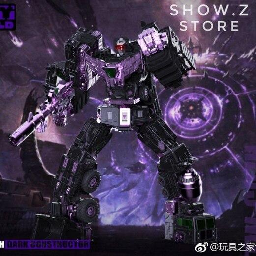[Show. Z Store] Toyworld TW TWC07H TW-C07H modèle noir dévastateur constructeur foncé ensemble de 6 figurines de Transformation