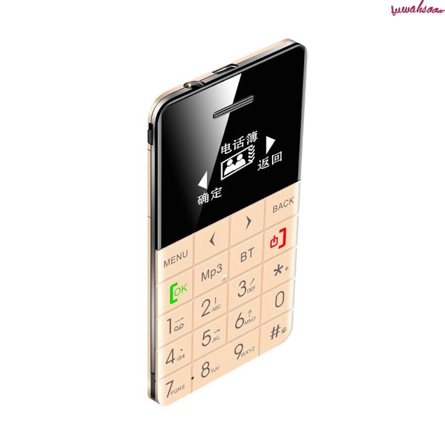 Aeku Q5 Q5-Card Mobile-Phone GSM New Mini Ultra-Thin Pocket Low-Radiation Quad-Band