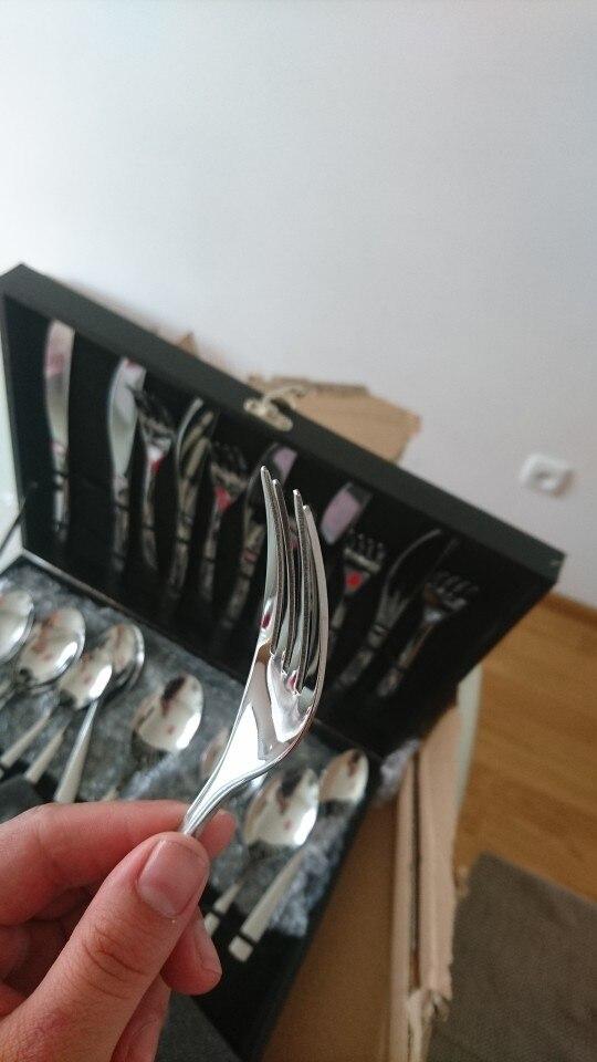 Aparelhos de jantar Espelho Espelho Talheres