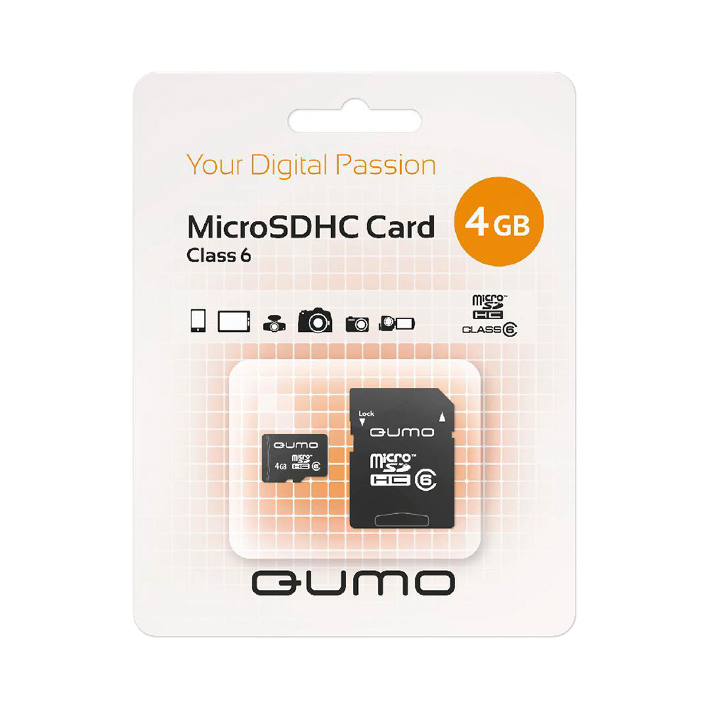 Memory Cards QUMO 14873 Computer & Office Internal Storage Memory Cards