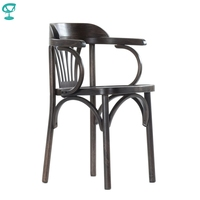 2120 Barneo Viennese wooden chair dinner Chair dinner Interior Stool Chair Kitchen Furniture Wenge free shipping in Russia