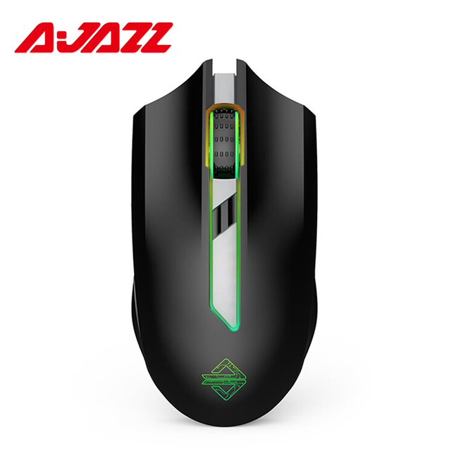 141465787c2 Original Ajazz AJ302 Pro 2.4G Wireless Dual Mode Esport RGB Backlight 5000  DPI Gaming Mouse For Laptop Computer PC Gamer Mice