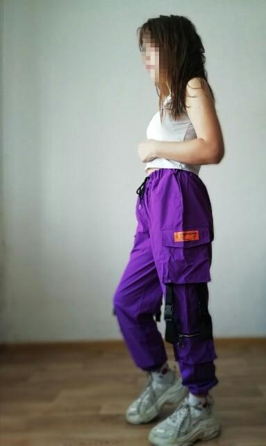Calças e capris bolsos calças Mulheres