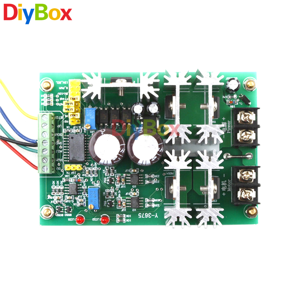 Buy Reversible Dc 10 60v Motor Speed Driver Control Mcu And Direction Governor Soft Start H Bridge From Reliable Suppliers On Diy Box Electronics