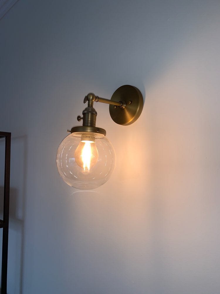Luminárias de parede parede lâmpada parede
