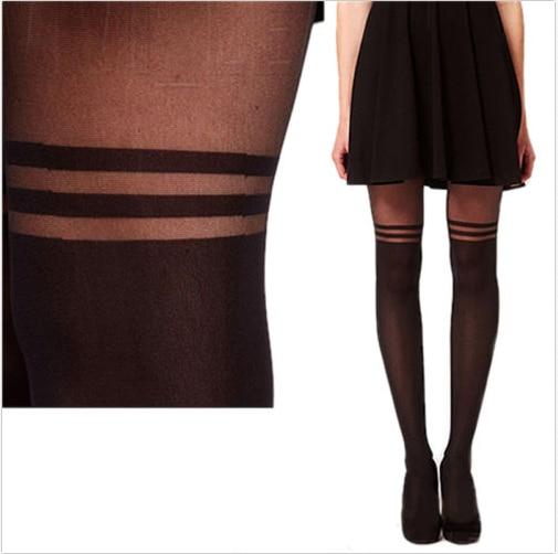 Silk skin and knee socks