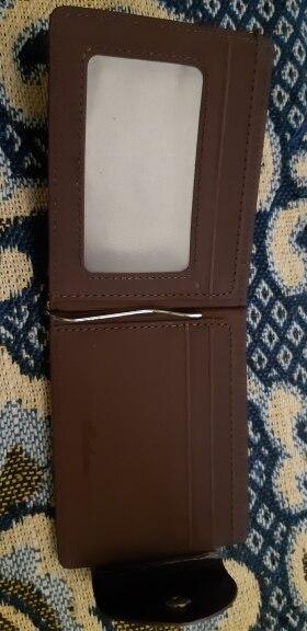 2019 Retro lederen mannen rits zak portemonnee geld tas klem voor geld slots magneet hasp geld clips photo review