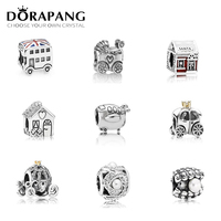 DORAPANG New Authentic 100 925 Sterling Silver House Pearl Shell Charm Beads Fit Bracelet DIY Bracelet