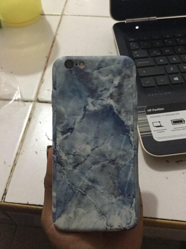 360 градусов Полная защита тела Пластик Мода цветок Мрамор камень окрашены жесткий чехол для iPhone X 6 6 S 7 8 плюс 5 5S SE