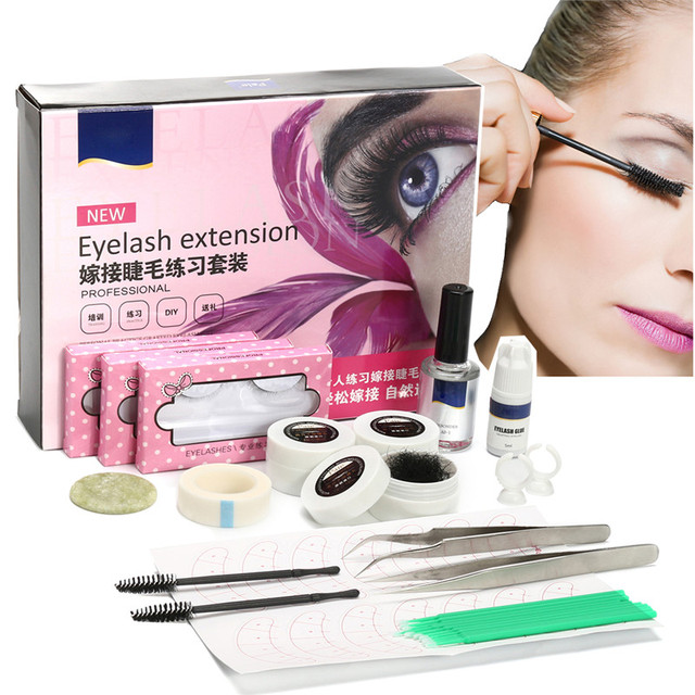 Individual False Eyelash Extension Tool Kit C Curl Lash