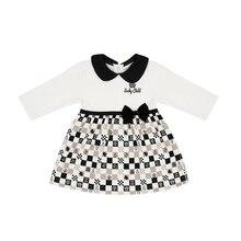 Платье Lucky Child без начёса для девочек, арт. 29-6D (Шахматы) [сделано в России, доставка от 2-х дней]