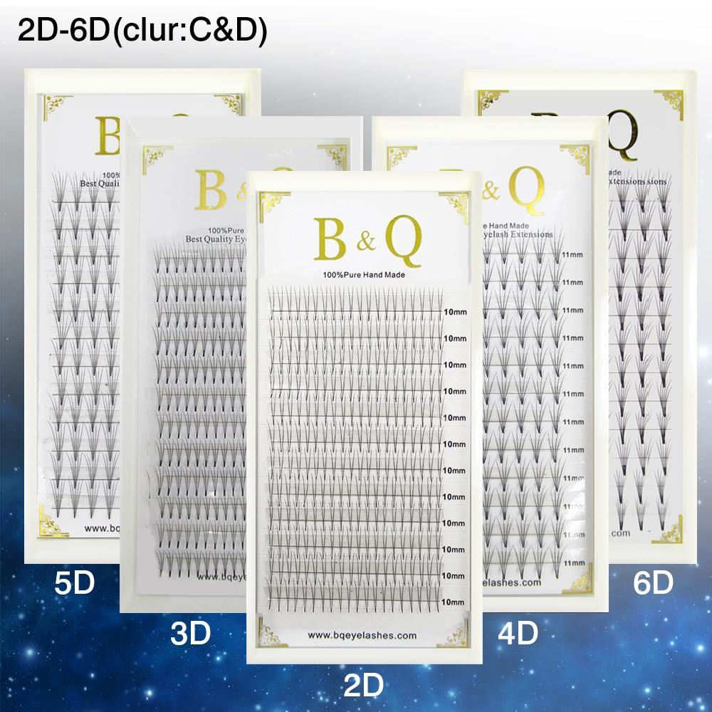 Professional Eyelash Extension Kit Eyelashes Russian Volume Lashes 3D Cilios Extension Premade Volume Lashes To Build BK1 недорого