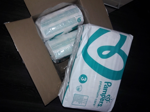 Diapers Pampers Premium Care 6-10 kg, size 3, 114 pcs.