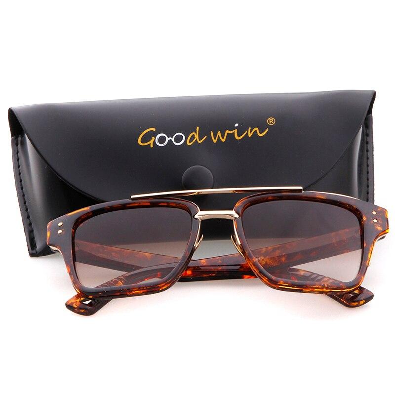 GOOD WIN Women Retro Square Sunglasses Brand Designer 2017 Mens Sun Glasses Oculos De Sol Feminino Lentes Mujer Hot Shades Nail