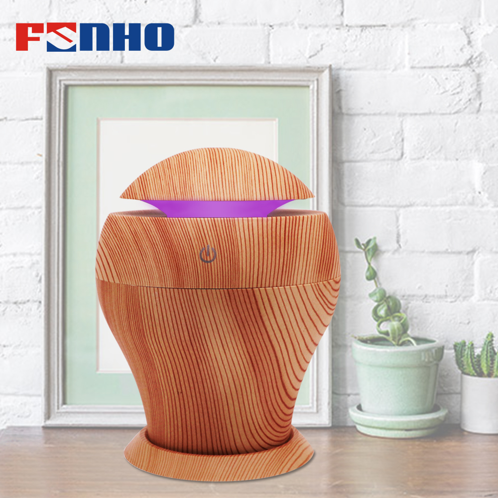 FUNHO Aroma Diffuser Mini Air Humidifier Diffuseur Huile Oil Essentiel Humidificador 7 LED Color Options for Home and Car 053 funho aroma diffuser mini air humidifier oil humificador aromaterapia para casa 5 color selectable for home office car 078