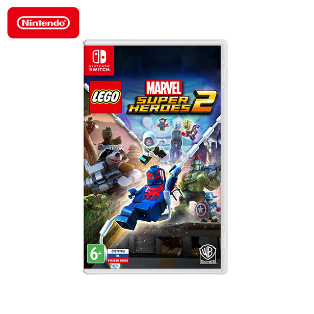 Игра для Nintendo Switch LEGO Marvel Super Heroes 2, русские субтитры