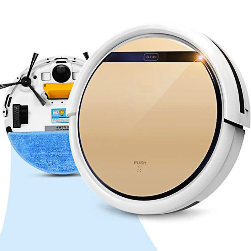 V5s Pro Intelligent Robot Vacuum Cleaner with 1000PA Suction Dry and Wet Mopping Robot Adspirador intelligent d5501 robot vacuum cleaner with 180ml water tank 2 suction nozzle powerful wet