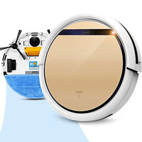 V5s Pro Intelligent Robot Vacuum Cleaner With 1000PA Suction Dry And Wet Mopping