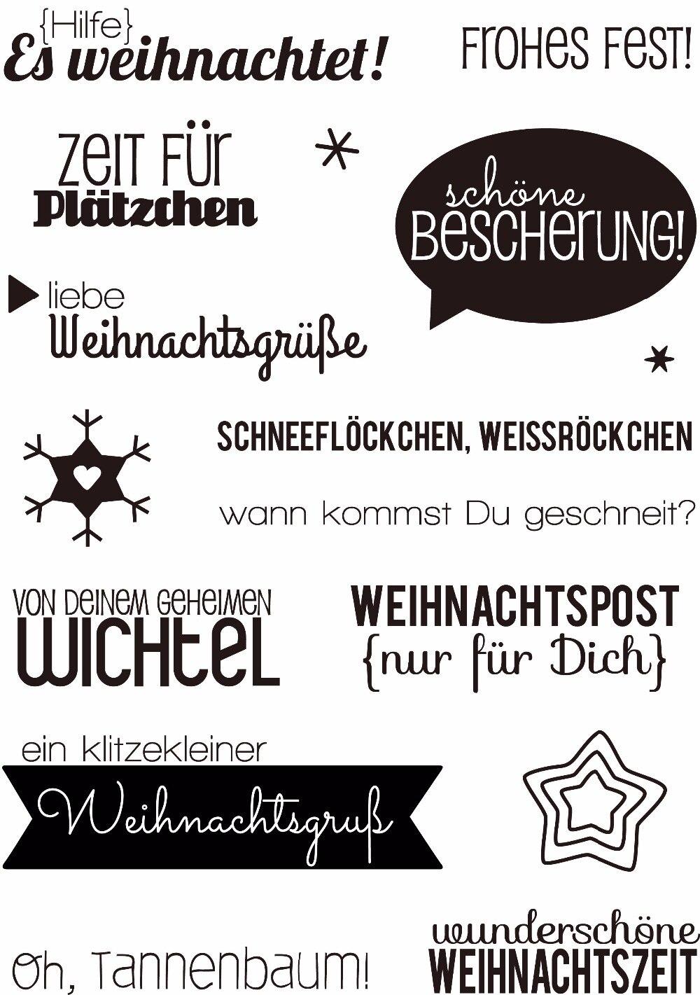 Weihnachtsgrube deutsch