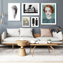 SD LINLEEHON Modern Wall Art Poster Abstract Painting Creative Classic Wall Picture Cubism Canvas Home Decoration Unframed cubism