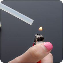 9122 home convenient hot-melt adhesive glue stick a hot melt glue 7mm transparent hair accessories wholesale(China)