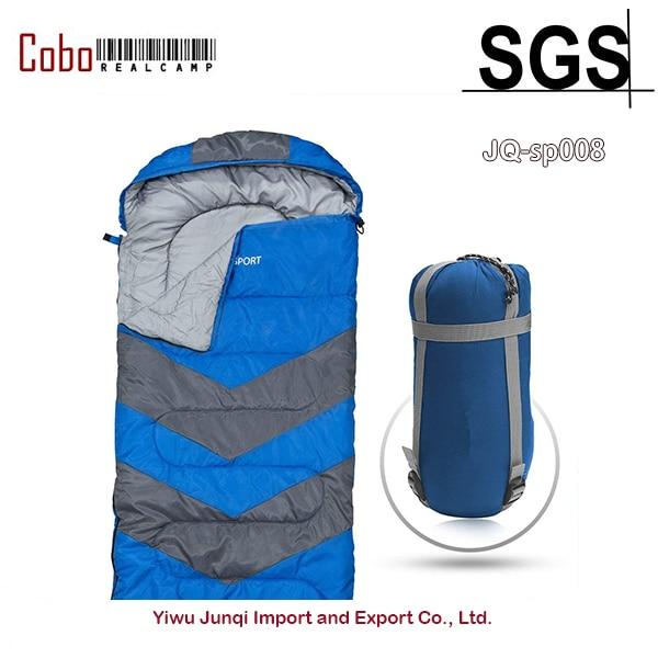 Sac de couchage enveloppe léger Portable imperméable confort avec sac de Compression idéal pour Camping 4 saisons en voyage