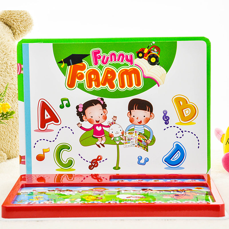Английский Язык детская Планшетный Компьютер Для Видов Обучения Книга Развивающие Игрушки Машинного обучения с Музыкой, знание 2