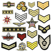 100pcs Army Military Patches for Clothes Embroidered Tactical Morale Badges iron on Stickers Jeans jacket