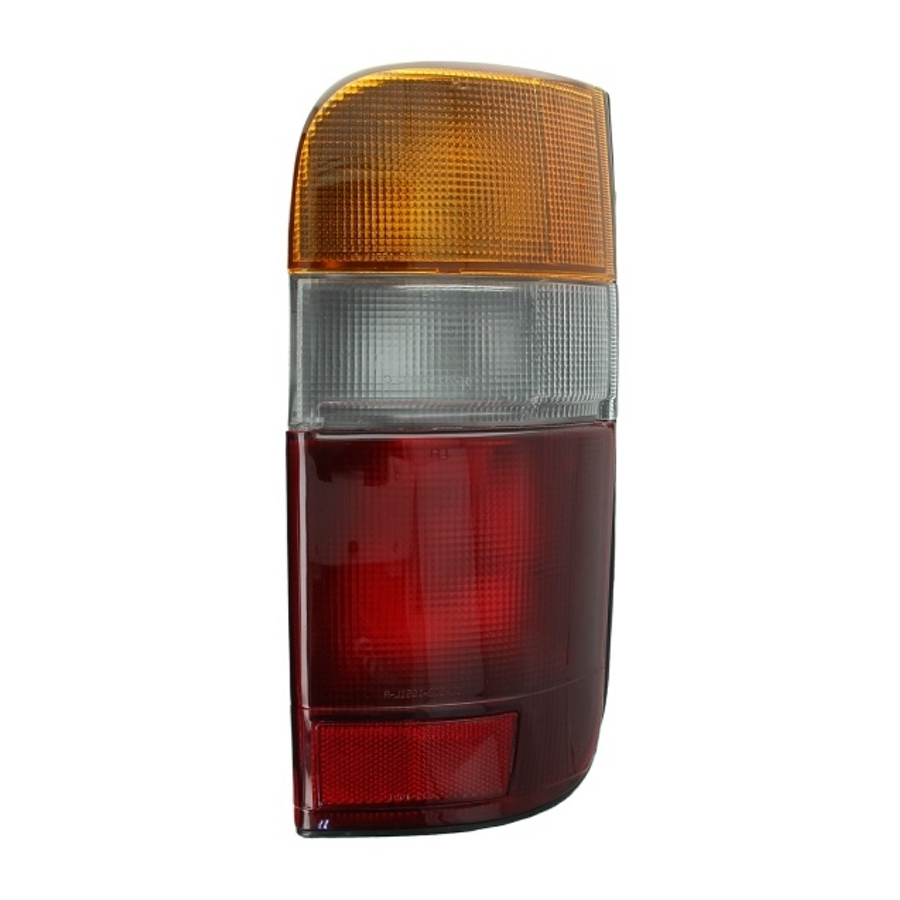 Tail Light Right fits TOYOTA HIACE 1989 1990 1991 1992 1993 1994 1995 1996 1997 1998 1999 2000 2001 2002 2003 2004 2005 Rear Lam