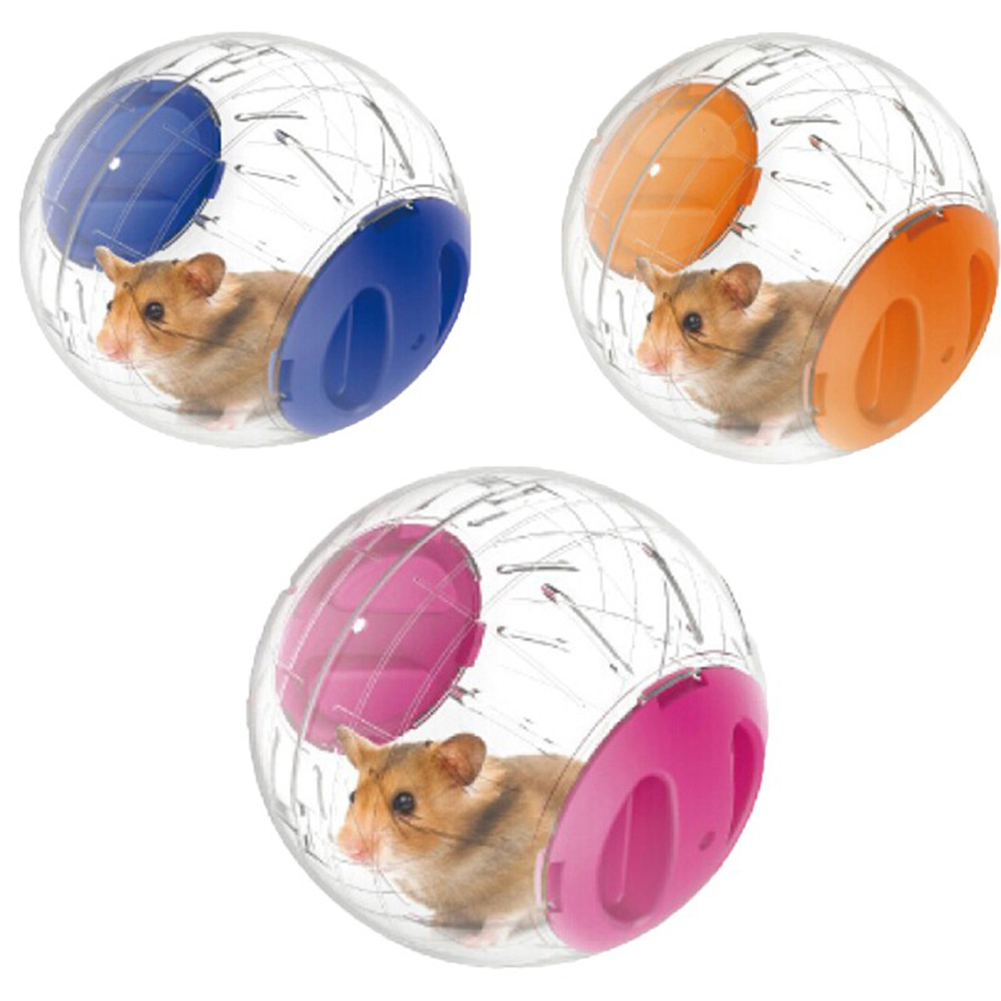 Home Pet Funny Running Ball Plastic Grounder Jogging Hamster Pet Small Exercise Toy 12cm Drop Shipping