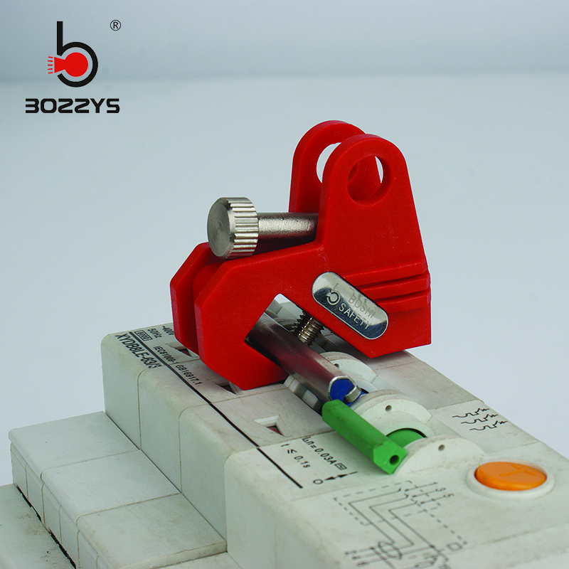 Small and medium circuit breaker lock Industrial electric air switch handle lock Energy isolation Equipment safety lock BD-D14 Замок