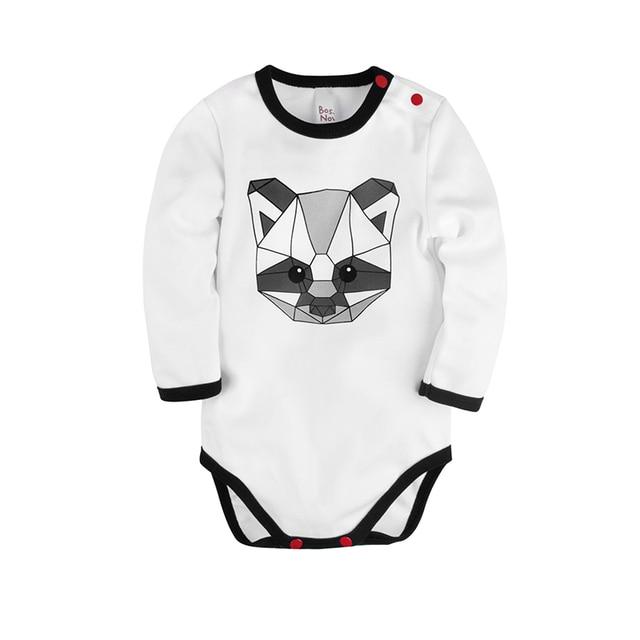 Боди с длинным рукавом 'Panda baby' Bossa Nova 580B-351