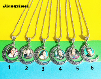 1 unidad (8 estilos) Super pop singer Soy Luna collar Elenco de Soy Luna foto torque de plata Soy Luna cristal pandent