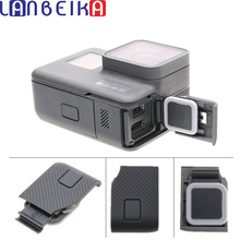 LANBEIKA Replacement Side Door USB C Mini HDMI Port Side Cover Repair Part for GoPro HERO5 HERO6 Hero 5 6 For Go Pro Accessories