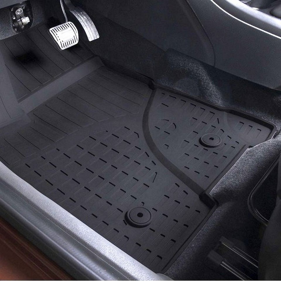 For Lada Vesta 2015-2019 rubber floor mats into saloon 5 pcs/set Rival 66002002