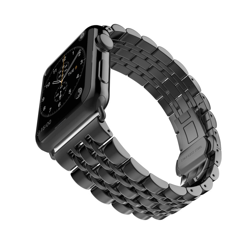 ASHEI Stainless Steel Strap For Apple Watch Band Series 3 38mm Bands 42mm Metal Link Bracelet For iWatch Series 1 Series 2 Belt wristband silicone bands for apple watch 42mm sport strap replacement for iwatch band 38mm classic stainless steel buckle clock