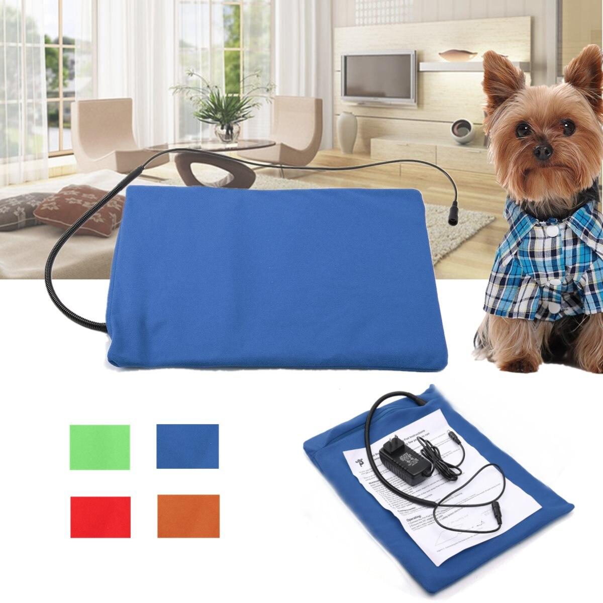 4 Colori Household Riscaldamento Pet Pad Cane Gatto Rilievo di Riscaldamento Elettrico Impermeabile Regolabile Riscaldamento Invernale Mat Per Cucciolo Gattino