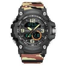 WEIDE 2019 Men Sports Watch Analog LED Quartz Clock Military Men Watch Digital Relogios Masculino Waterproof reloj Wristwatches все цены
