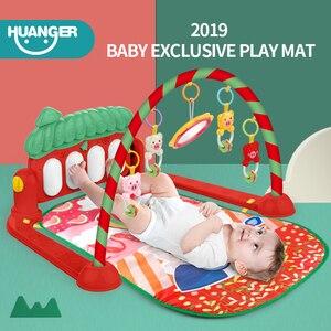 Image 2 - Dropship детский коврик, музыкальная активность, тренажерный зал, пазл, детский коврик, мягкий коврик, напольная игра, развивающие игрушки