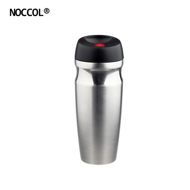 NOCCOL New Health Stainless Steel Vacuum Thermos High Quality Flasks Car Travel Coffee Mug Cup Water Bottle Drinkware 350ML